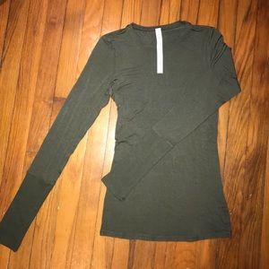 Lululemon Cotton Long Sleeve Shirt